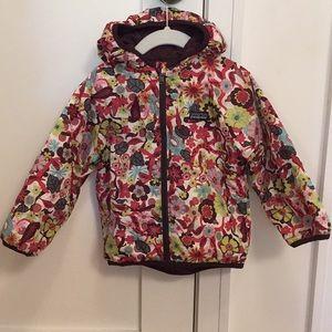 Patagonia Girls 3T Reversible Puff Jacket